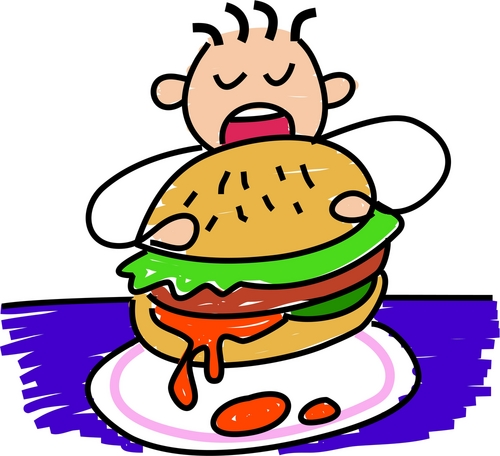 Obesidad infantil imagenes para colorear - Imagui